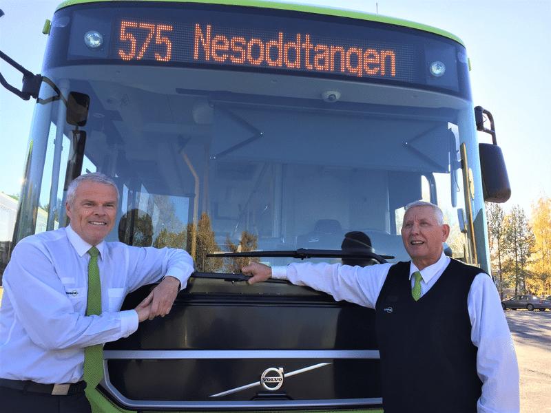 I busselskapet Nobina ønsker man seg gjerne seniorer som bussførere.  -Seniorene er rett og slett en stor ressurs for oss, sier ledelsen i selskapet