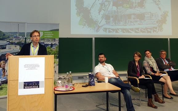 Professor Hans Martin Hasselhorn. (Foto Ulf Peter Hellstrøm))