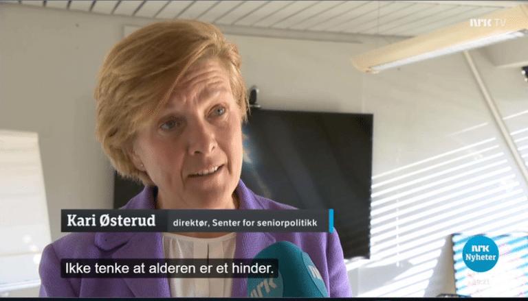 Fra NRK-nyheter 11. mars 2019