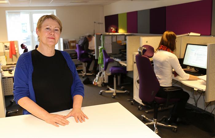 Reidun Eggesbø sier flere tenker seniorpolitikk som en del av en helhetlig personalpolitikk lenge før de ansatte fyller 62 år. (Foto Tora Herud)