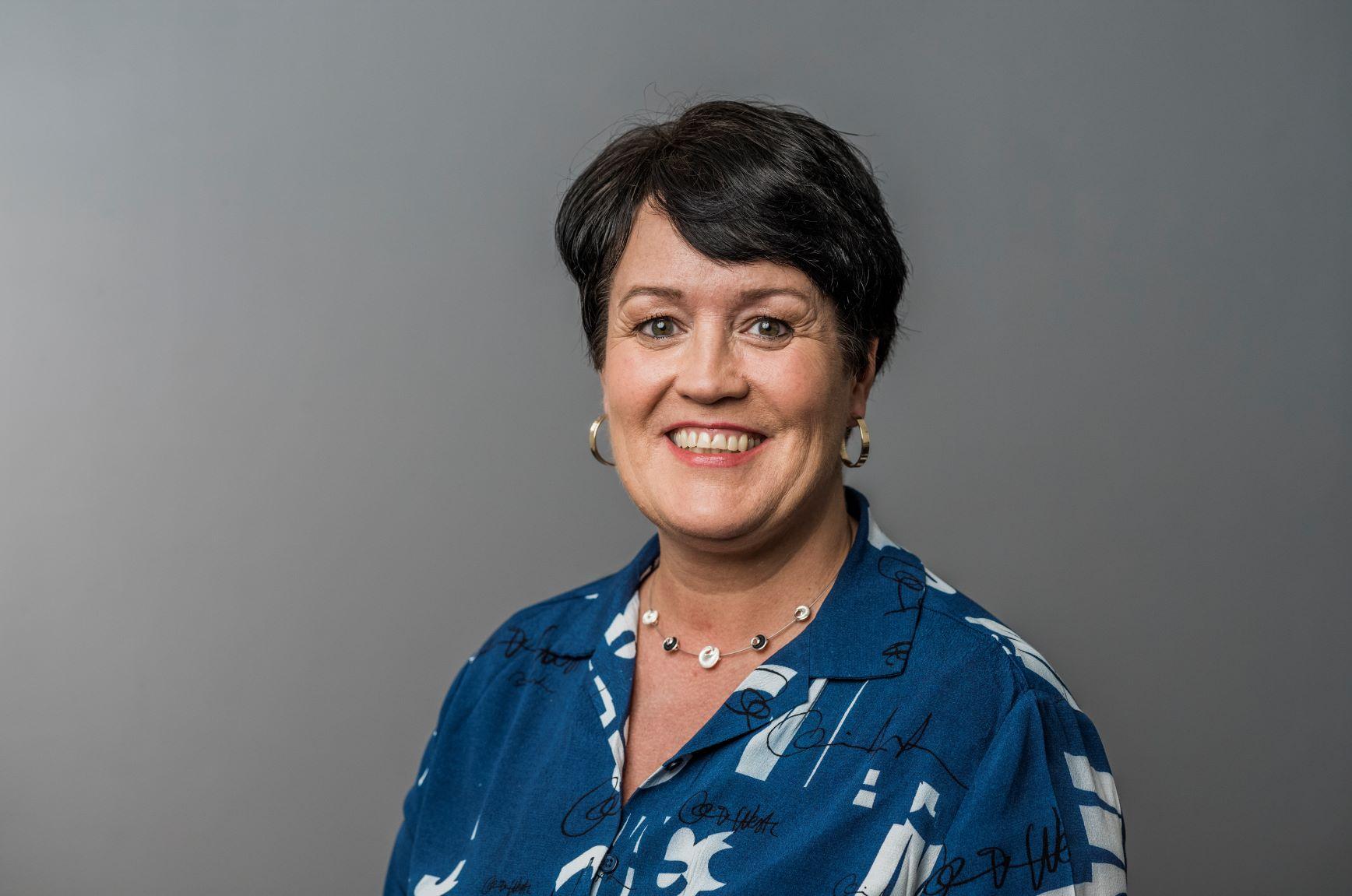 Seniorsekretær May-Britt Pedersen.